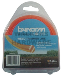 TRIMMER LINE ORANGE 1.2MMX15M