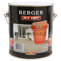 Berger Jet Dry Gloss Amber 1l Paint Paints Interior And Exterior Walkers Online Hardware