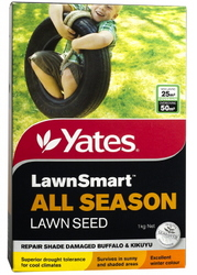 SEED LAWN ALL SEASON LAWNSMART 1KG