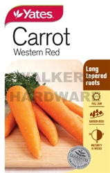 SEED VEGETABLE CARROT WESTERN RED
