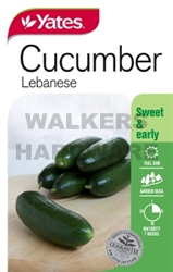 SEED VEGETABLE CUCUMBER LEBANESE