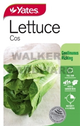 SEED VEGETABLE LETTUCE COS