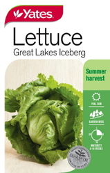 SEED LETTUCE ICEBERG     GREAT LAKES
