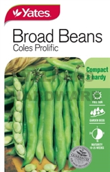SEED VEGETABLE BEANS BROAD COLES P (P)