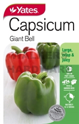 SEED VEGETABLE CAPSICUM GIANT BELL