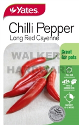 SEED VEGETABLE CHILLI LONG RED