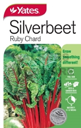 SEED VEGETABLE SILVERBEET RED CHARD