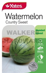 SEED VEGETABLE WATERMELON CTRY SWEET