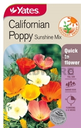SEED FLOWER CALIFORNIAN POPPY