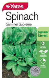 SEED SPINACH SUMMER SUPREME