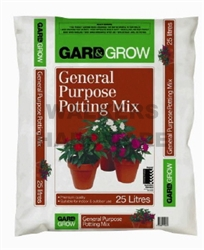 POTTING MIX GENERAL PURPOSE 25L GARD & GROW