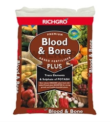 BLOOD & BONE PREMIUM PLUS 10KG (RICHGRO)