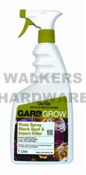 INSECTICIDE ROSE SPRAY RTU GARD & GROW 1L