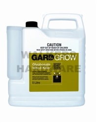 WEEDKILLER GLYPHOSATE 5L (M10) READY TO USE