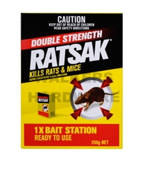 RATSAK DOUBLE STRENGTH 250G