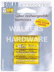 BATTERY SOLAR RECHARGEABLE