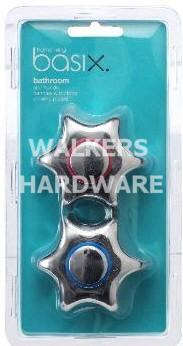 TAP HANDLE & BUTTON STAR PK3