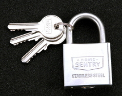 PADLOCK STAINLESS STEEL 30MM HOME SENTRY