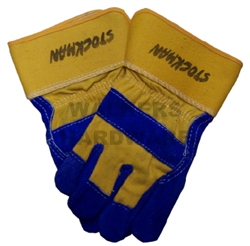GLOVES WORK LEATHER PREMIUM