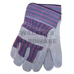 GLOVES LADIES M/DUTY LEATHER PALM