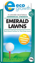 ECO GROWTH EMERALD LAWN FERTILISER 10KG