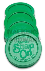 VACOLA PRESERVING SNAP ON STORAGE CAPS SIZE 4 PK4