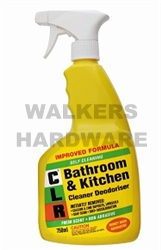 Cleaner Clr Bathroom Kitchen 750ml Housewares Cleaners Sealers Waxes And Polishes