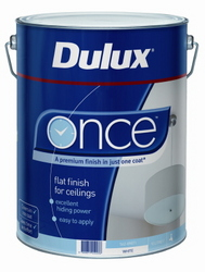 DULUX CEILING ONCE WHITE 10L