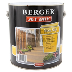 Berger Jet Dry Non Slip Ferric Red 4l Paint Paints Interior And Exterior Walkers Online