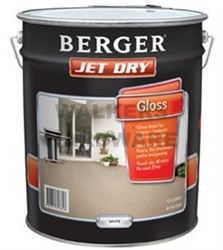 Berger Jet Dry Gloss White 10l Paint Paints Interior And Exterior Walkers Online
