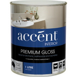 ACCENT GLOSS INTERIOR WHITE 1L