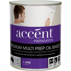 ACCENT MULTI PREP OIL BASED WHITE 1L