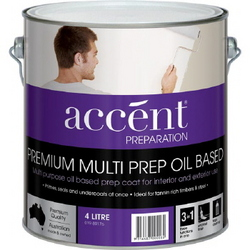 ACCENT MULTI PREP OIL BASED WHITE 4L
