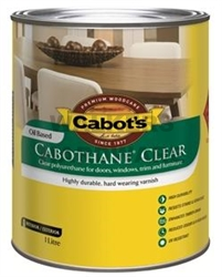 CABOTHANE CLEAR GLOSS 1L OIL BASED