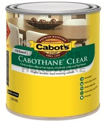 CABOTHANE CLEAR GLOSS 250ML OIL BASED