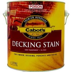DECKING STAIN 4L OREGON