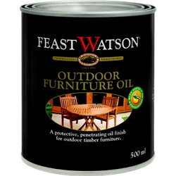 FEAST WATSON OUTDOOR FURNITURE OIL CLEAR 500ML