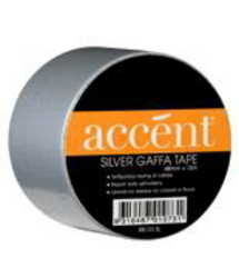 tape accent gaffa silver paint accessories tape protectors and strapping walkers online. Black Bedroom Furniture Sets. Home Design Ideas