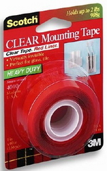 TAPE MOUNTING HEAVY DUTY CLEAR