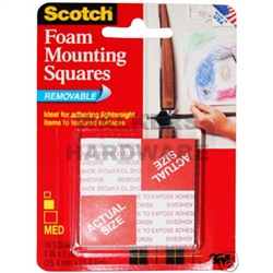 SQUARES MOUNTING REMOVEABLE