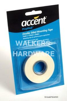 TAPE D/S MT ACCENT 1MM X 12MM X 2M