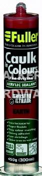 CAULK IN COLOURS EARTH