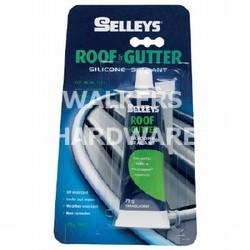 ROOF & GUTTER SILICONE TRANS 75G