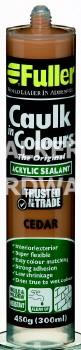 CAULK IN COLOURS 420G CEDAR
