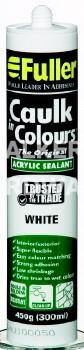 CAULK IN COLOURS WHITE 420G