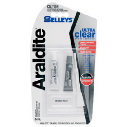 GLUE ARALDITE ULTRA CLEAR 8ML