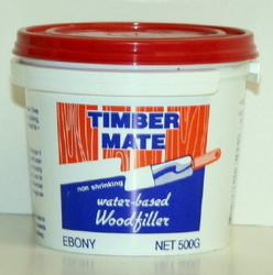TIMBERMATE WOOD FILLER 500G EBONY