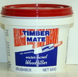 TIMBERMATE WOOD FILLER 500G BRUSHBOX