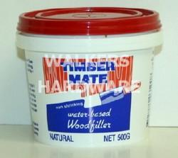 TIMBERMATE WOOD FILLER 500G NATURAL