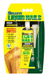 LIQUID NAILS ADHESIVE FAST GRAB 95G